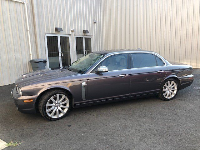 2008 jaguar xj vanden plas sedan