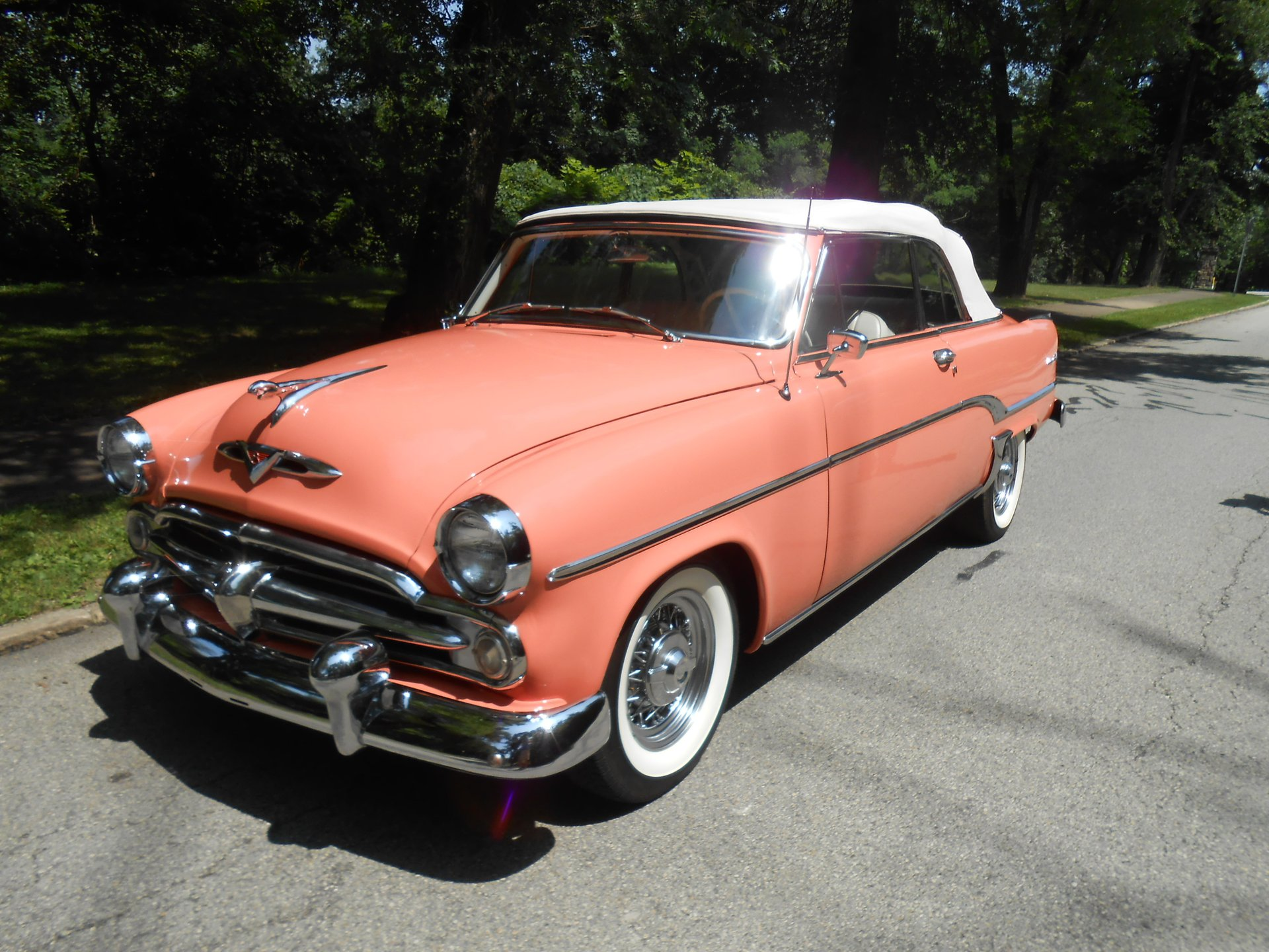 1954 dodge royal powerflite convertible