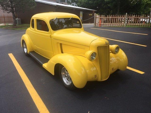 1935 dodge 5 window coupe street rod