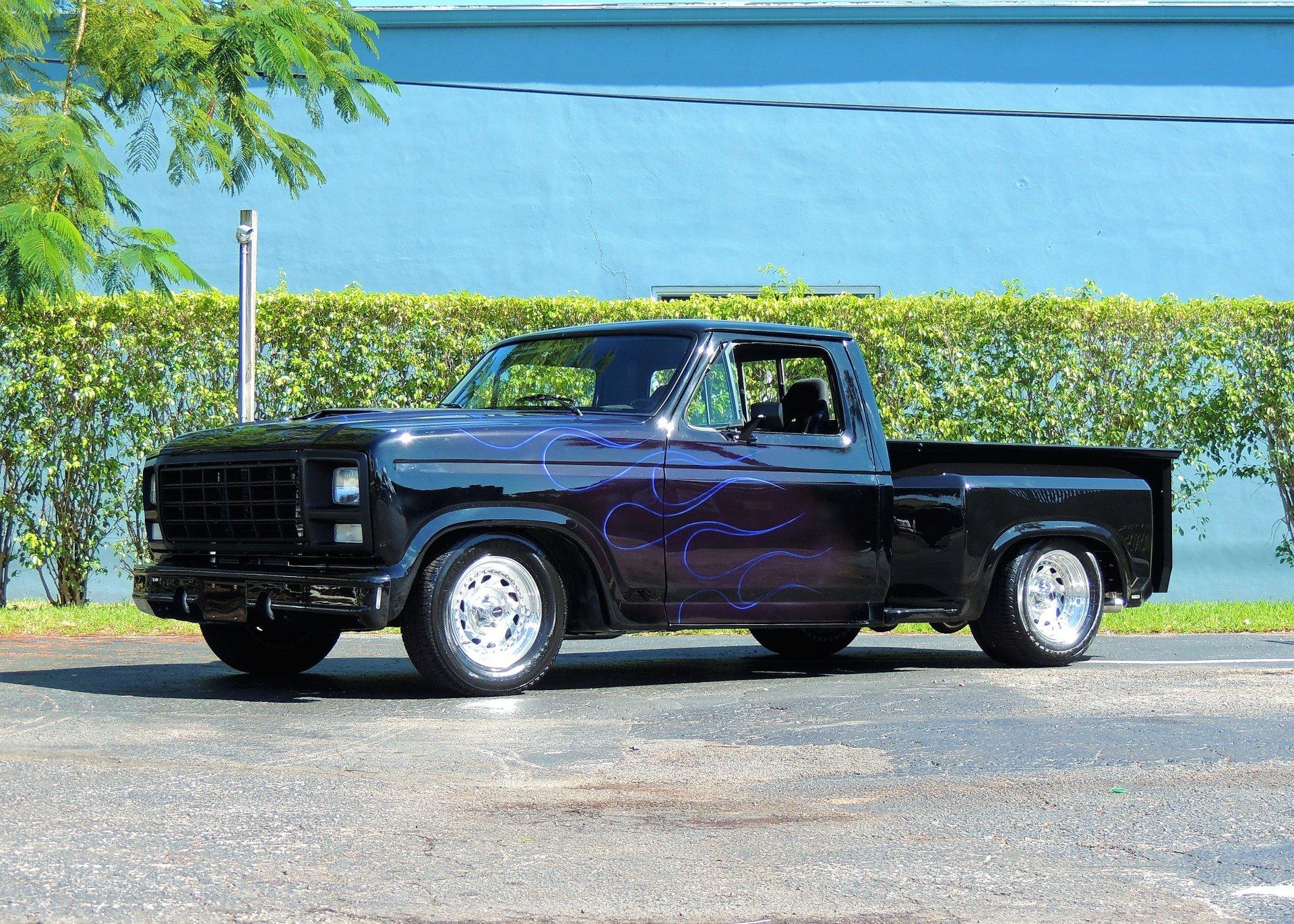 1981 ford f100 restomod pickup