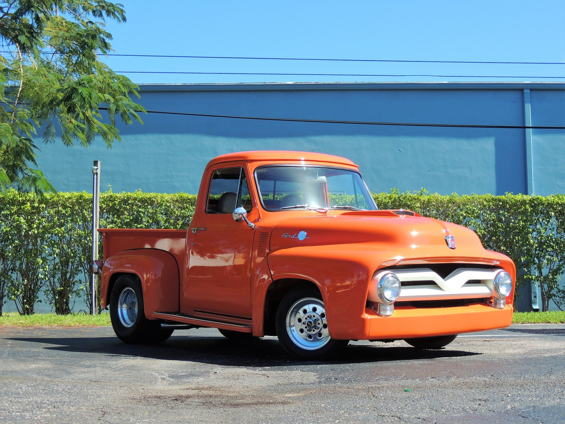 1955 ford f100 restomod pickup