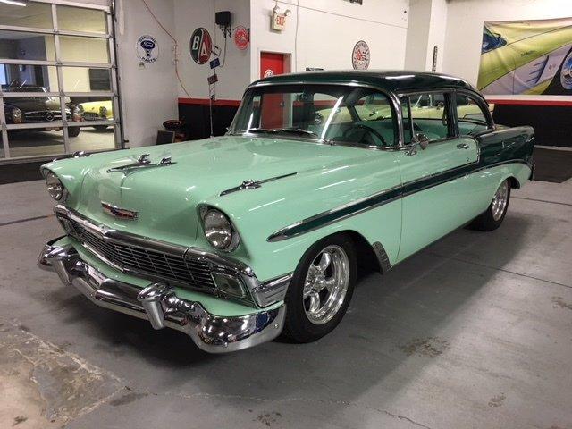 1956 chevrolet bel air sedan