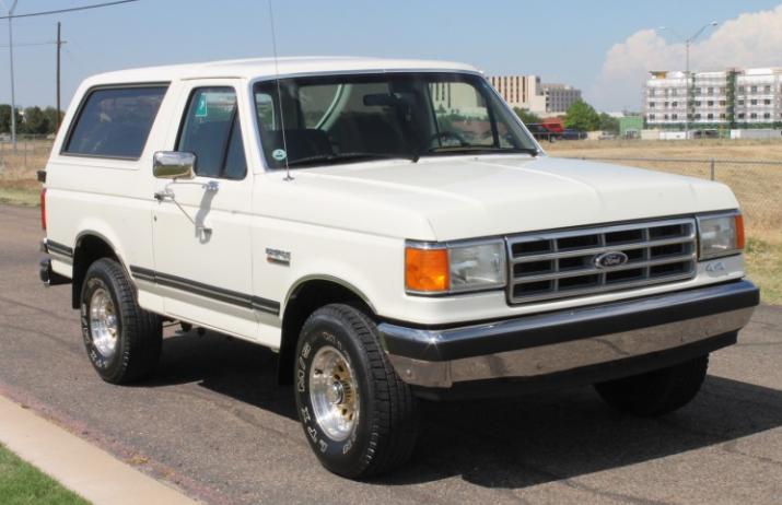 1988 ford bronco xlt 4 x 4