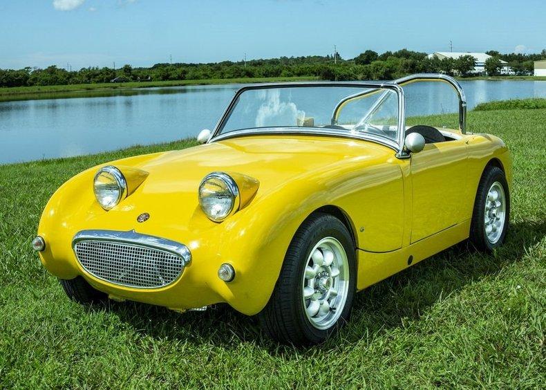 1958 Austin-Healey Bugeye Sprite