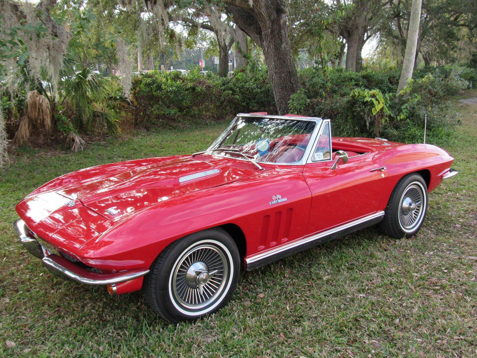 1966 chevrolet corvette 427 425 convertible