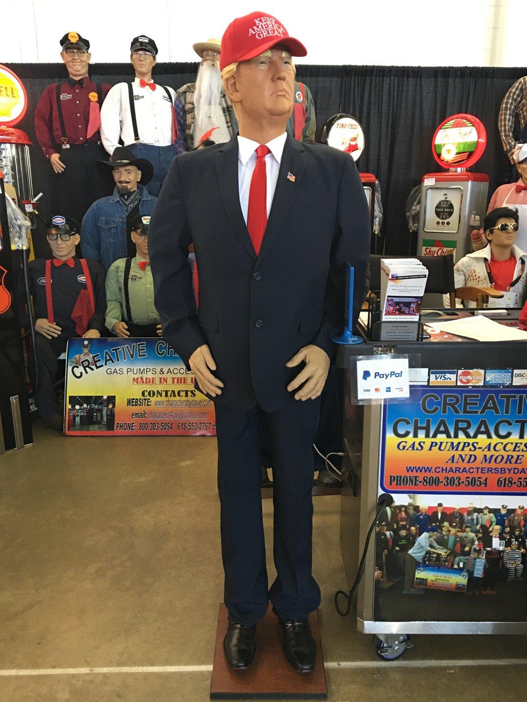 Trump creative character