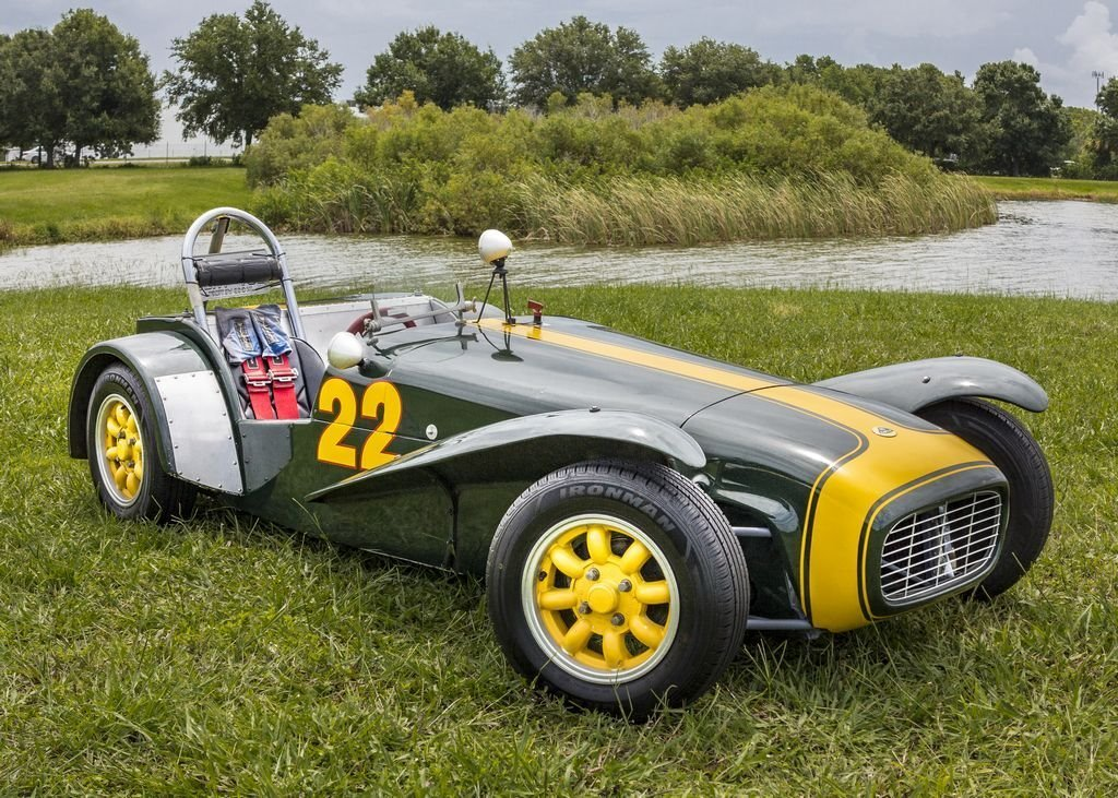 1962 lotus super seven series ii rhd race car