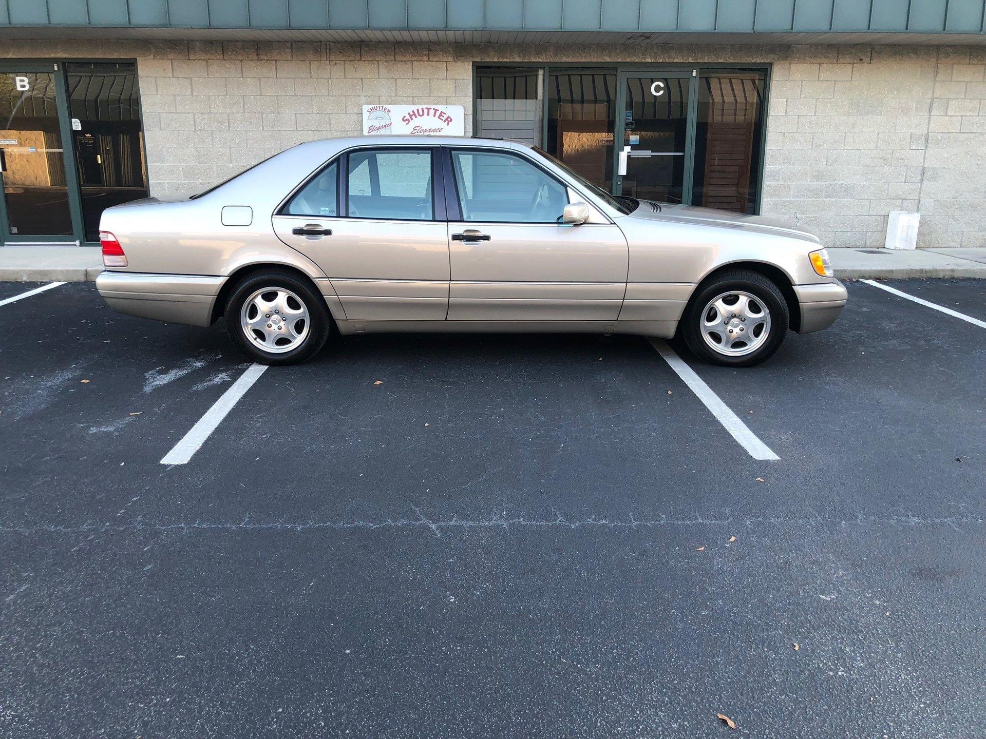 1998 mercedes benz s320w sedan