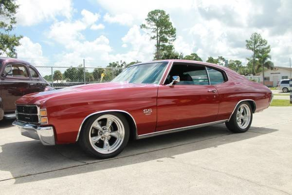 1971 chevrolet chevelle ss 454 tribute