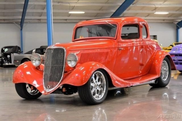 1933 ford 5 window street rod coupe