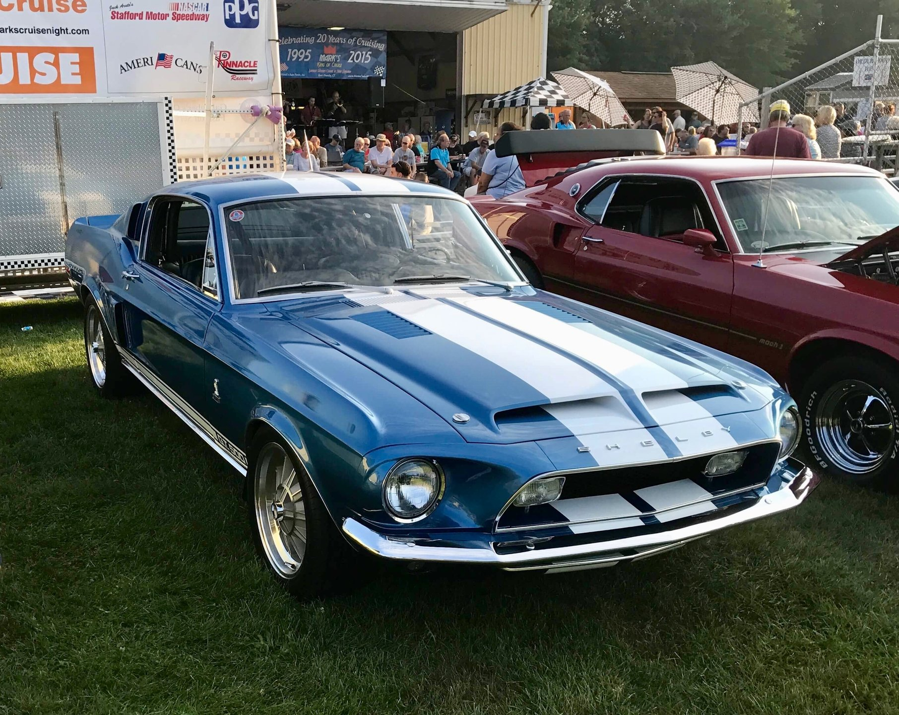 1968 ford shelby gt 500 fastback