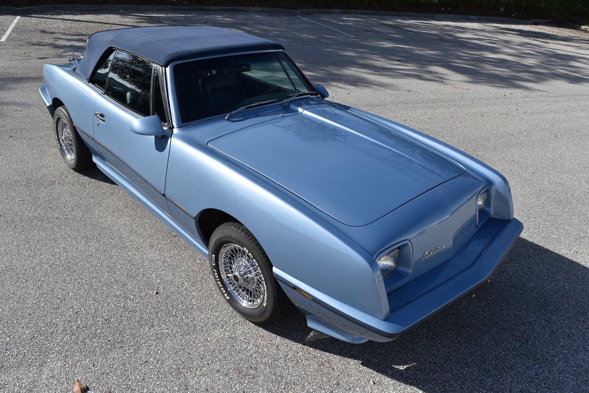 1989 avanti avanti ii convertible