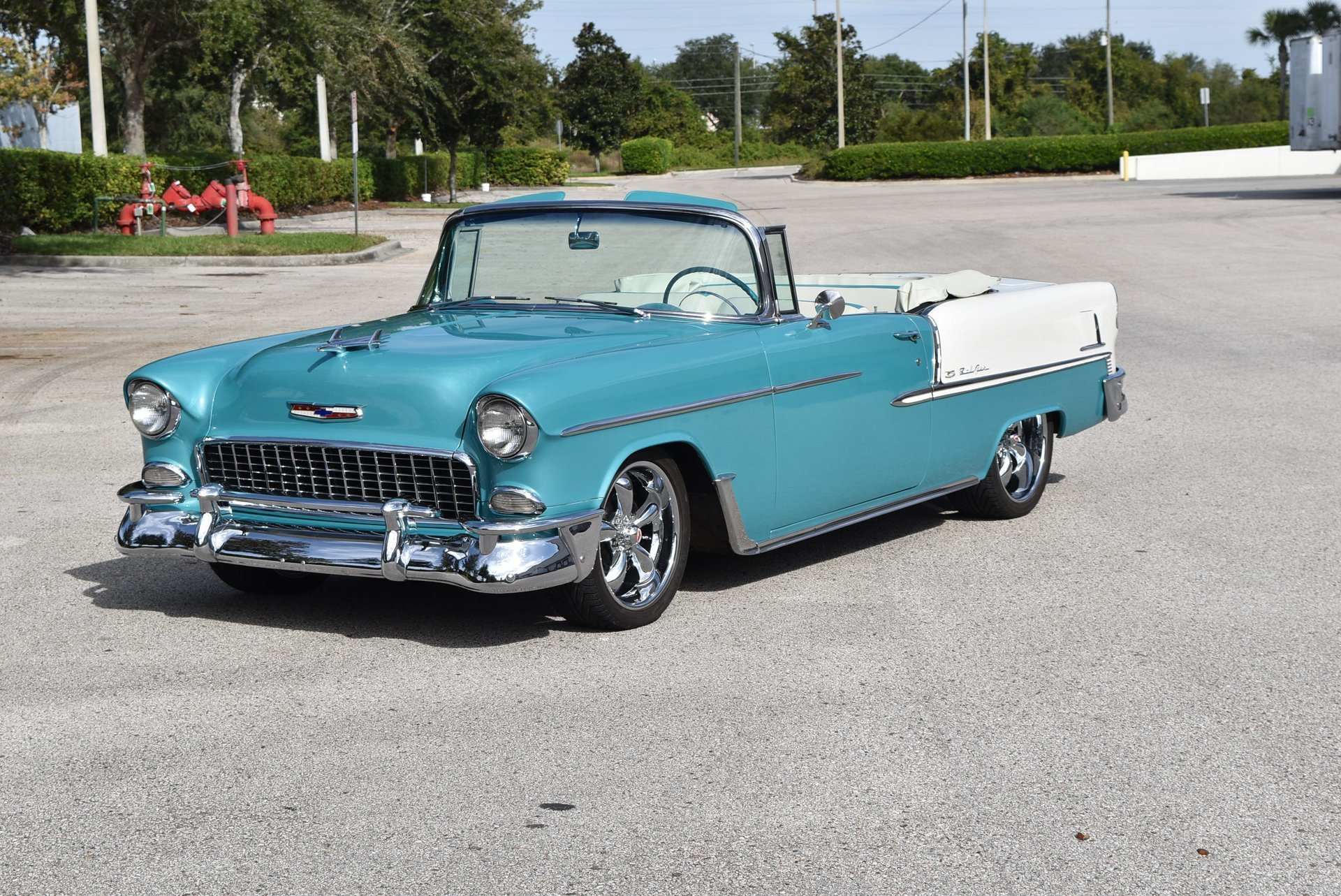 1955 chevrolet bel air convertible