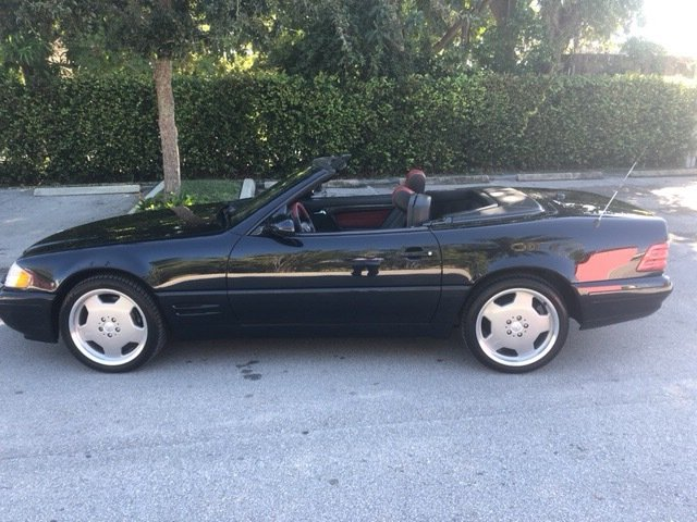2000 mercedes benz sl500 roadster