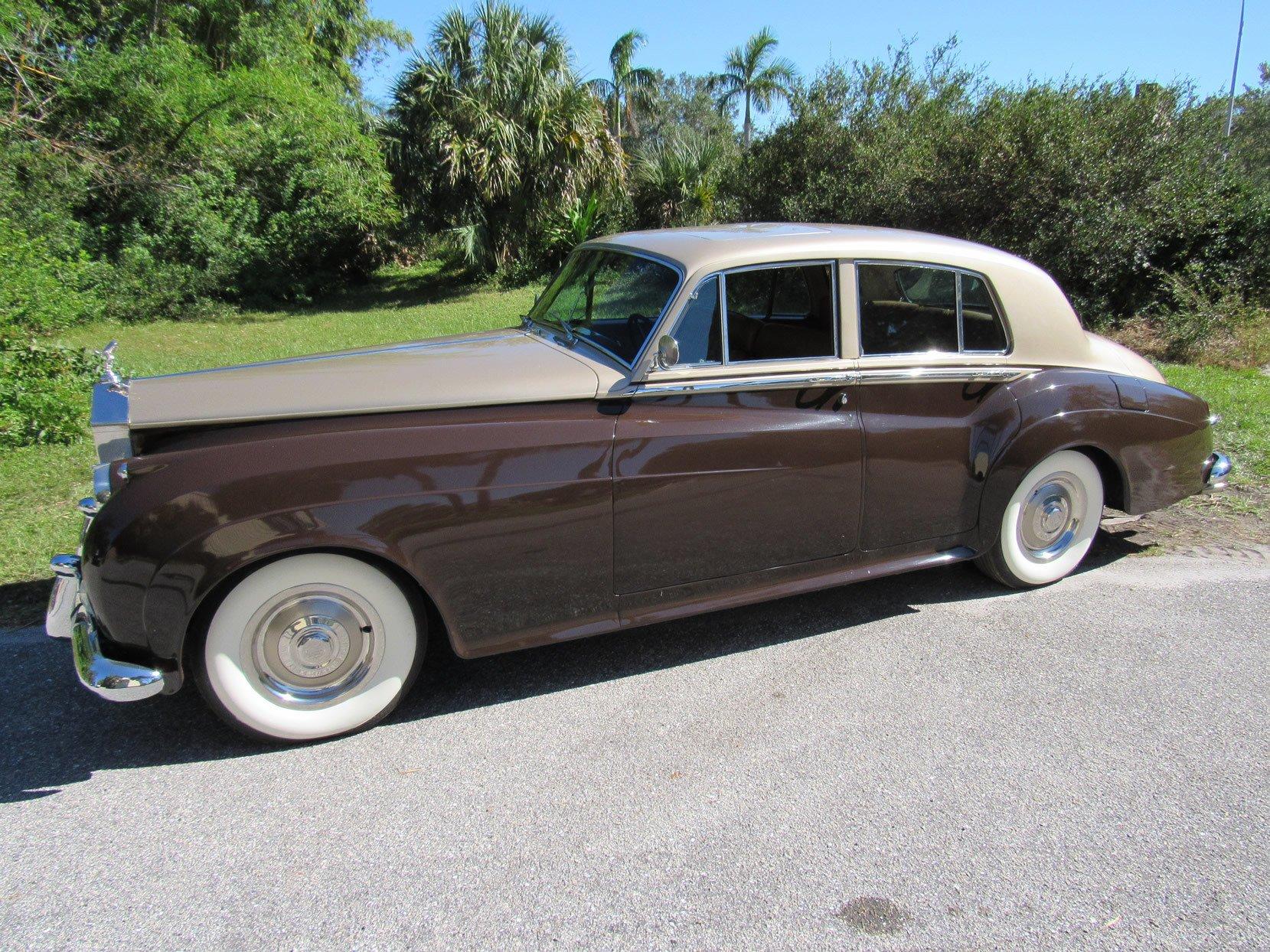1959 rolls royce silver cloud i lhd sedan