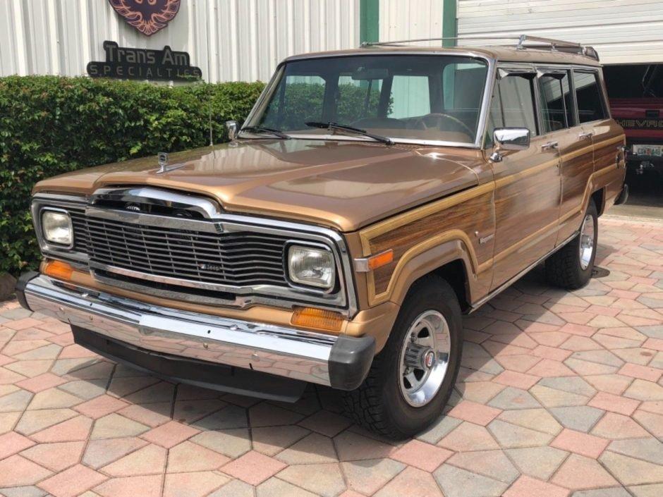 1982 jeep wagoneer sport utility