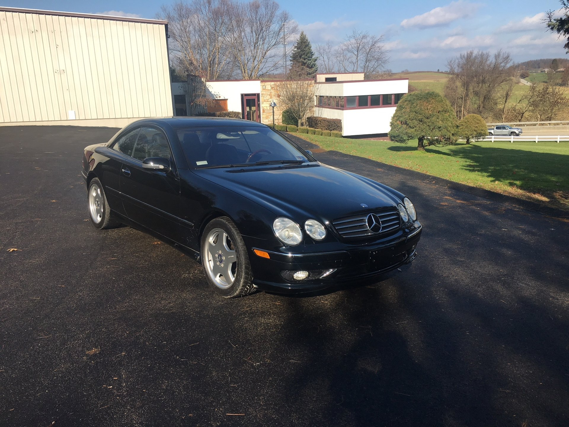 2002 mercedes benz cl55 amg coupe