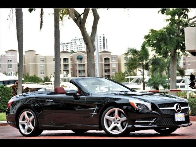 2014 Mercedes-Benz SL 550