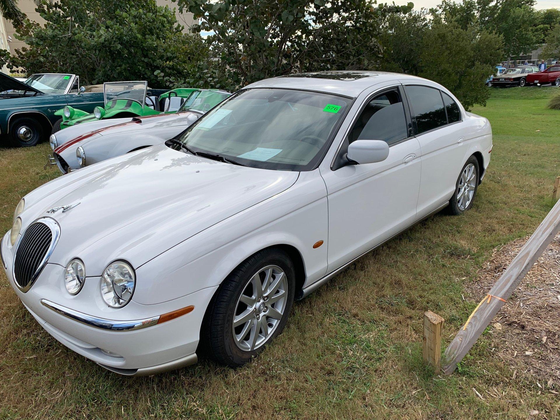 2001 jaguar s type sedan
