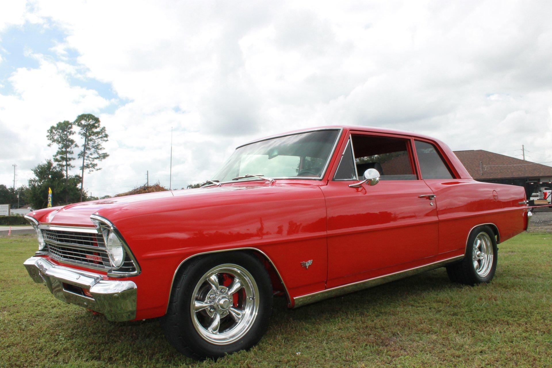 1967 chevrolet nova ii sedan