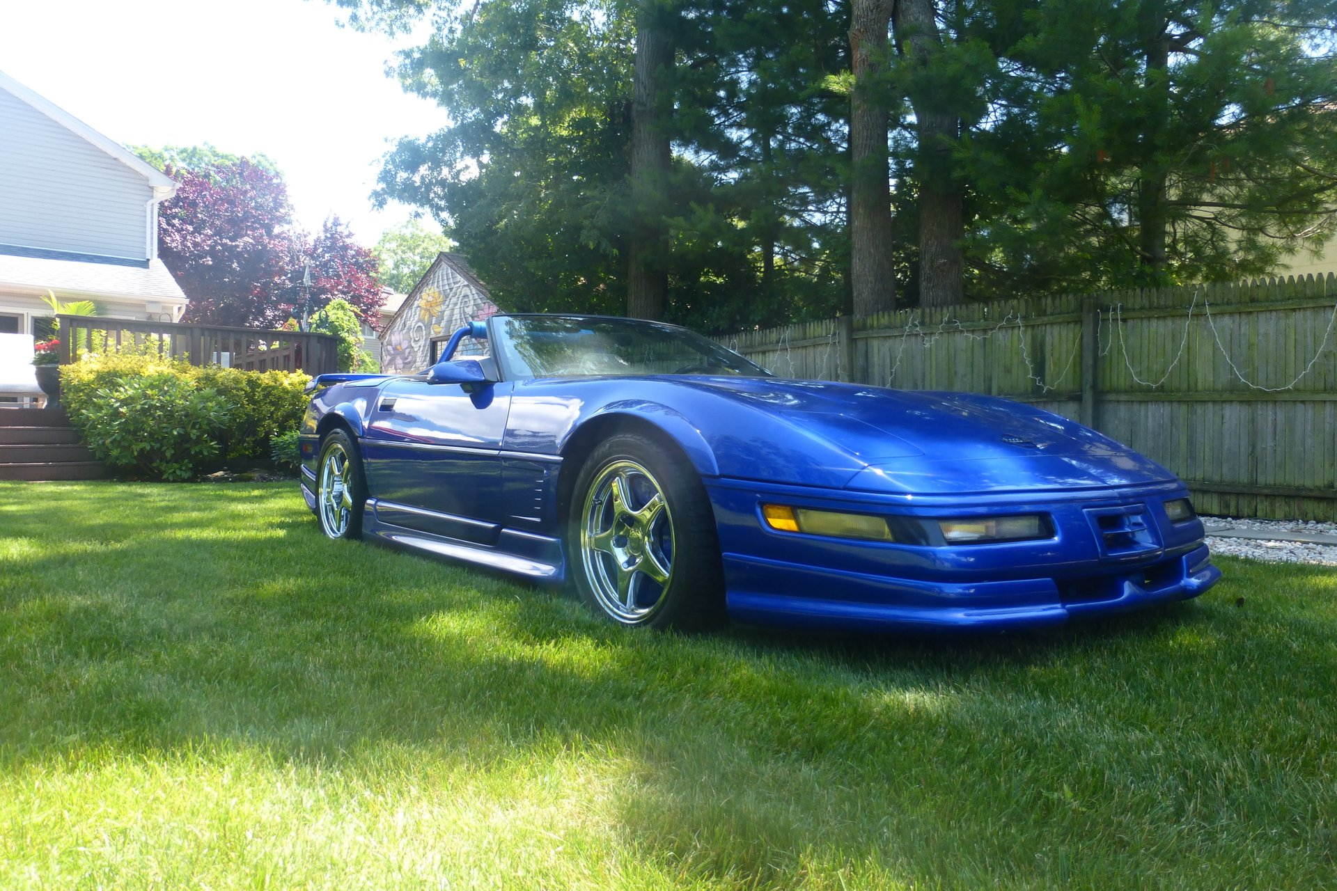 1995 chevrolet corvette supercharged convertible