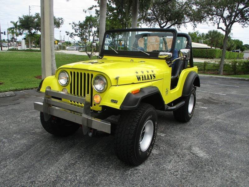 1974 jeep willys