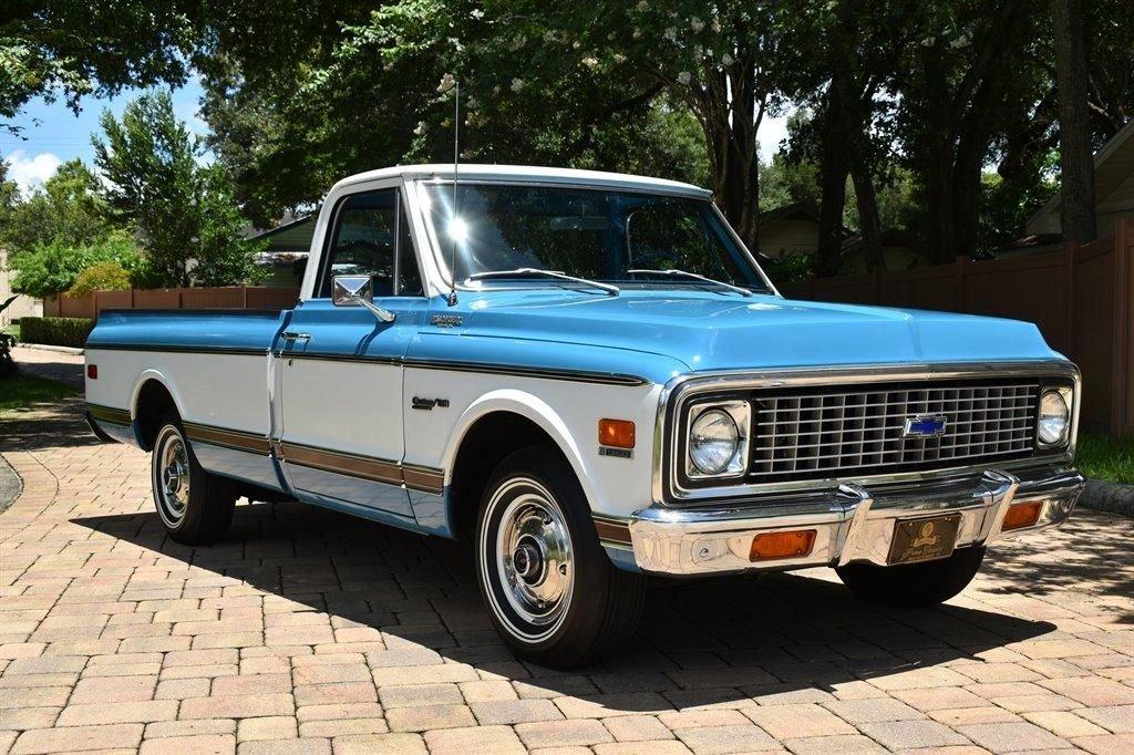 1971 chevrolet c10 original low miles