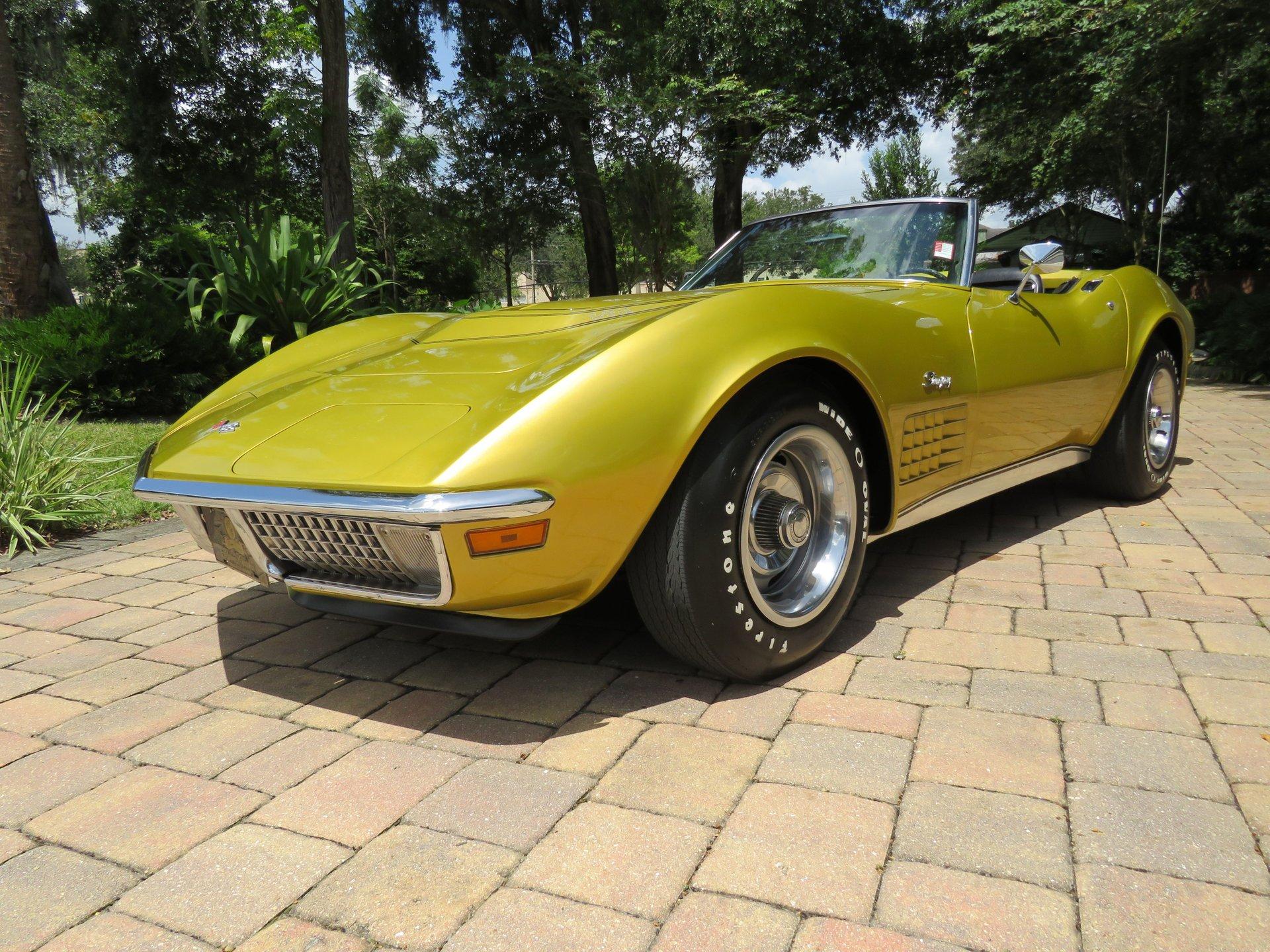 1971 chevrolet corvette convertible lt1