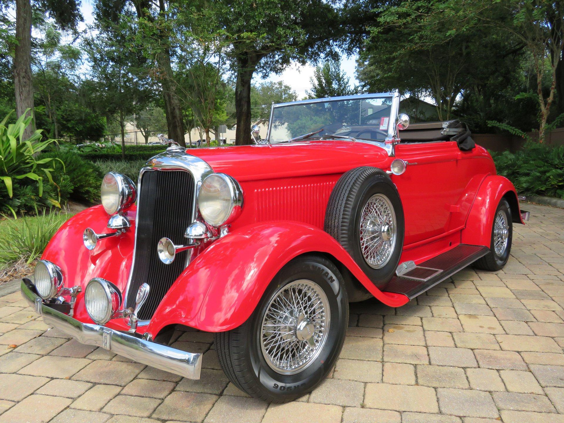 1933 dodge roadster street rod