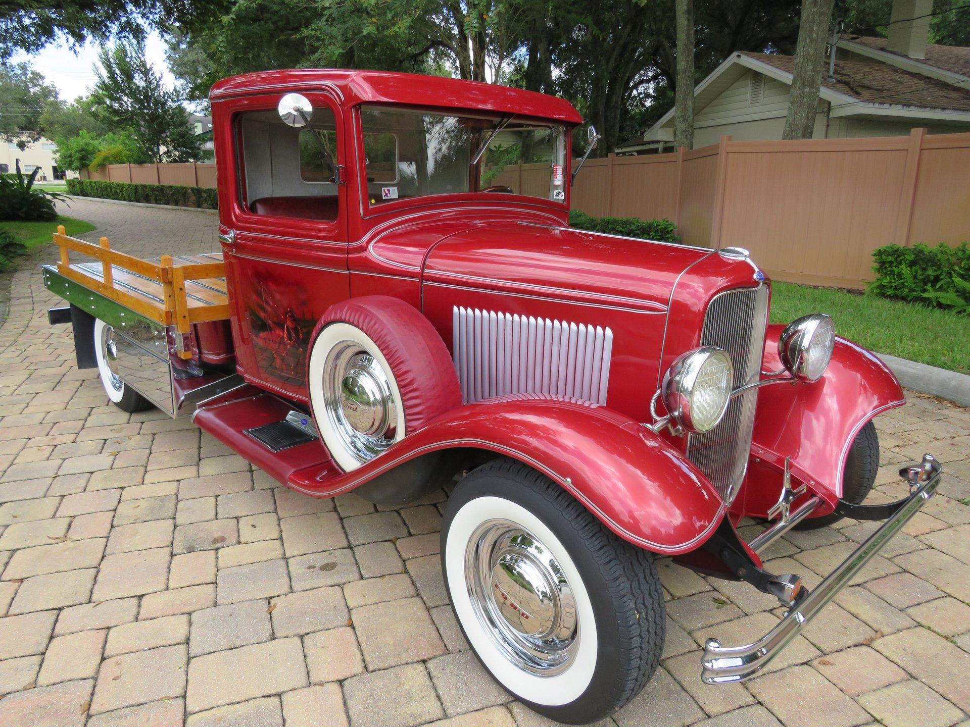 1932 ford custom flatbed pickup
