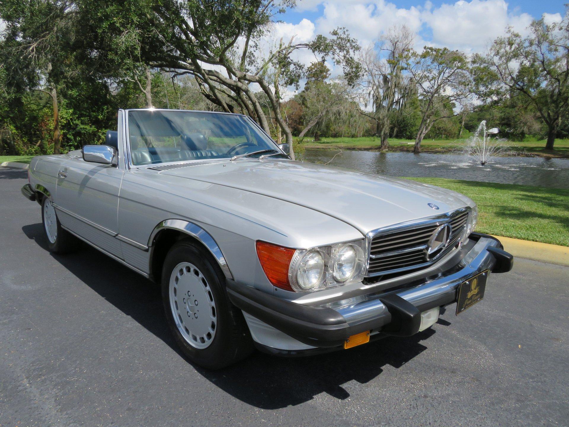 1989 mercedes benz 560sl roadster
