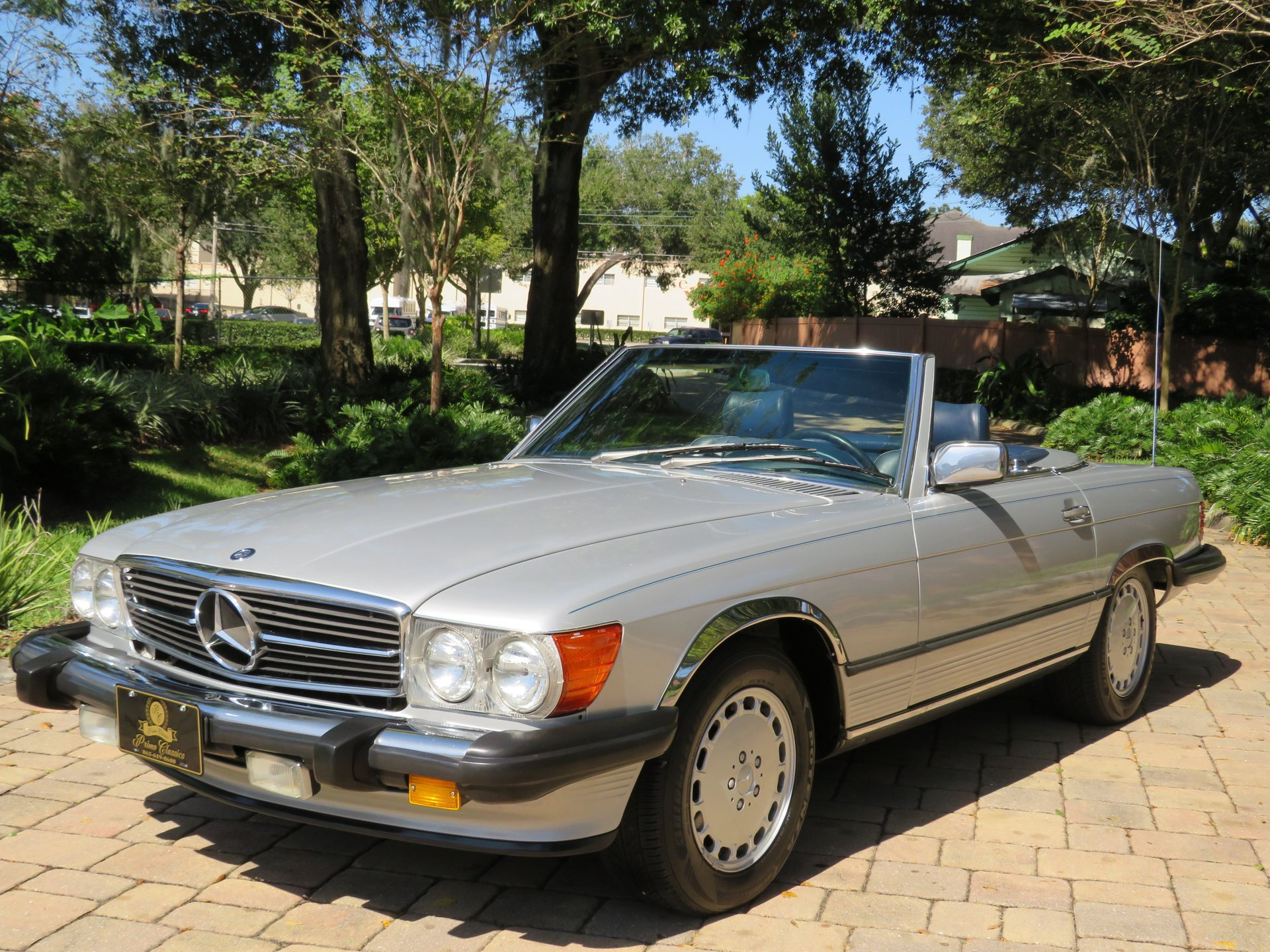 1989 mercedes benz 560sl roadster