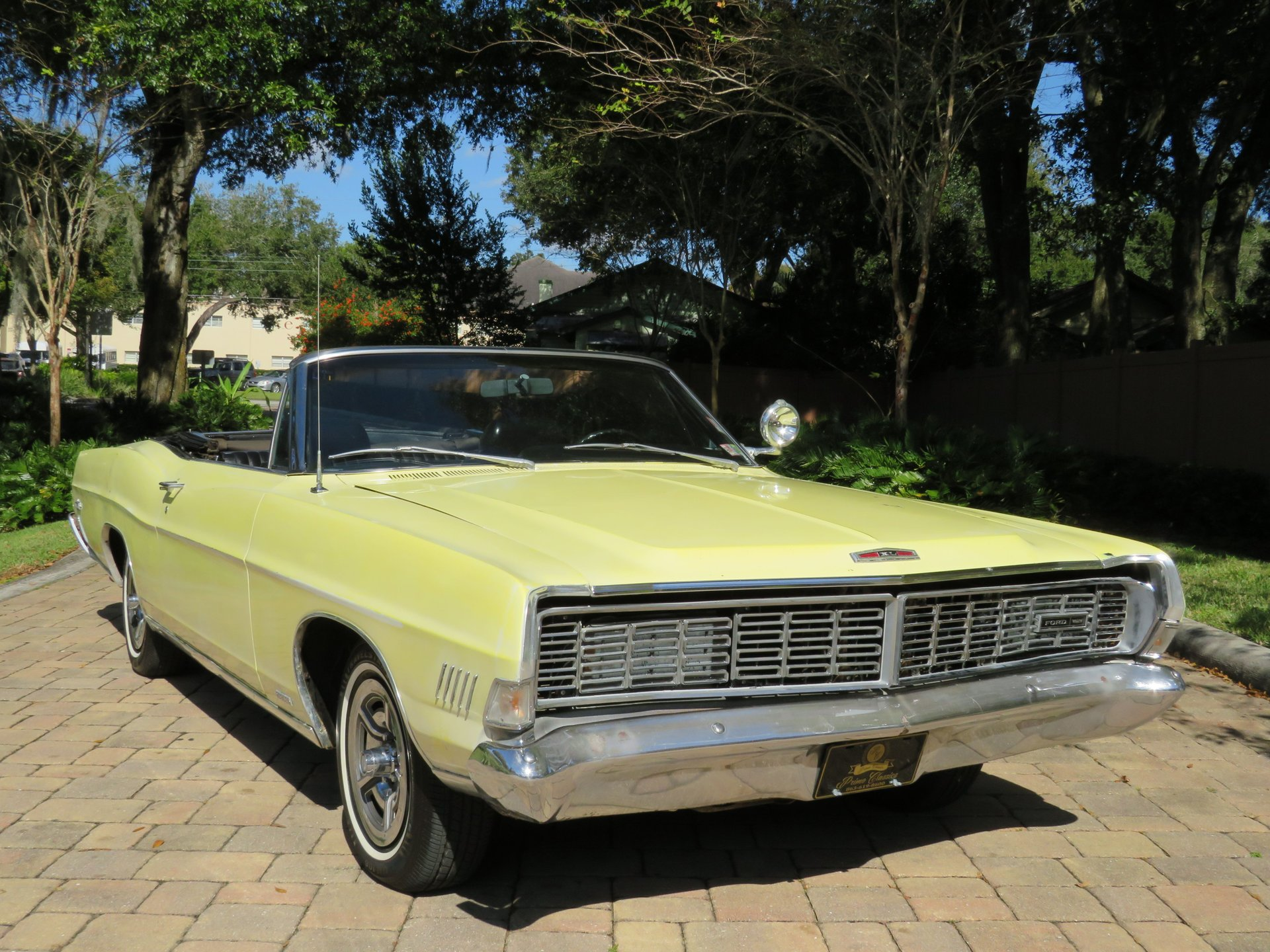 1968 ford galaxie xl 390 convertible