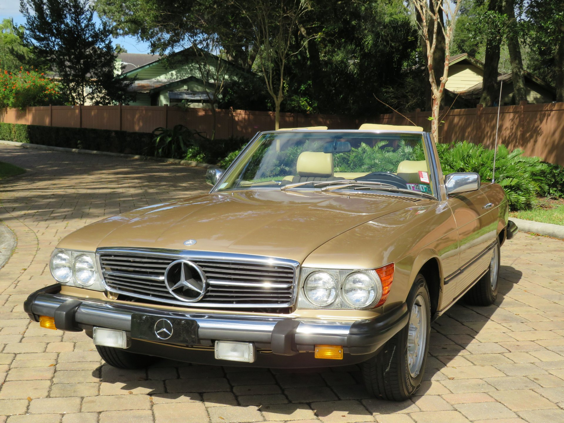 1983 mercedes benz 380sl roadster