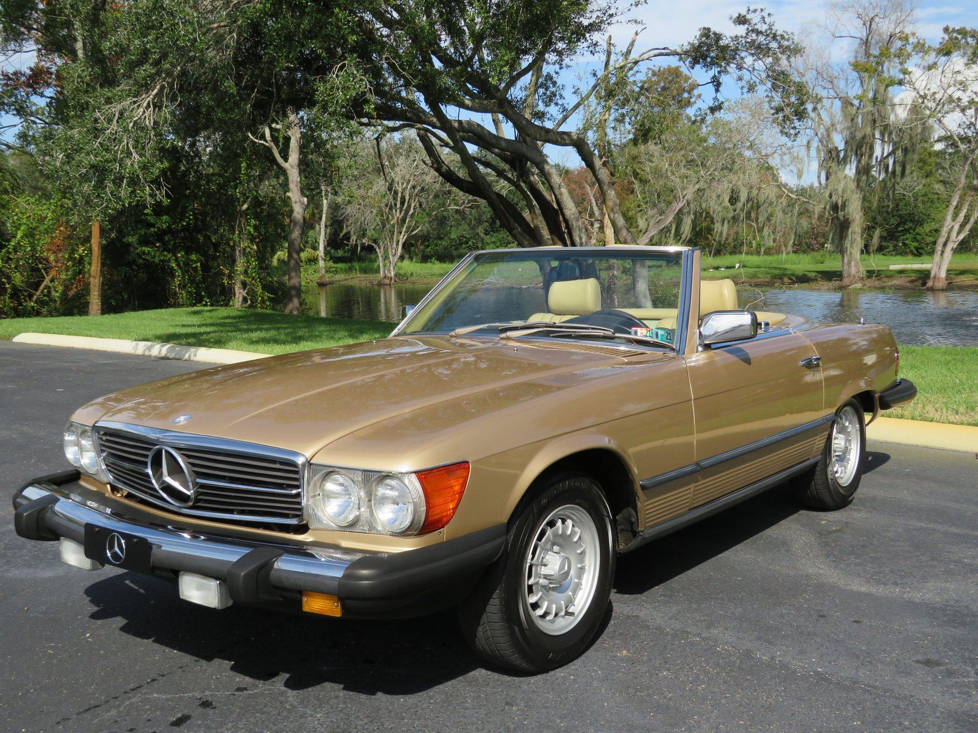 1983 mercedes benz 380sl roadster