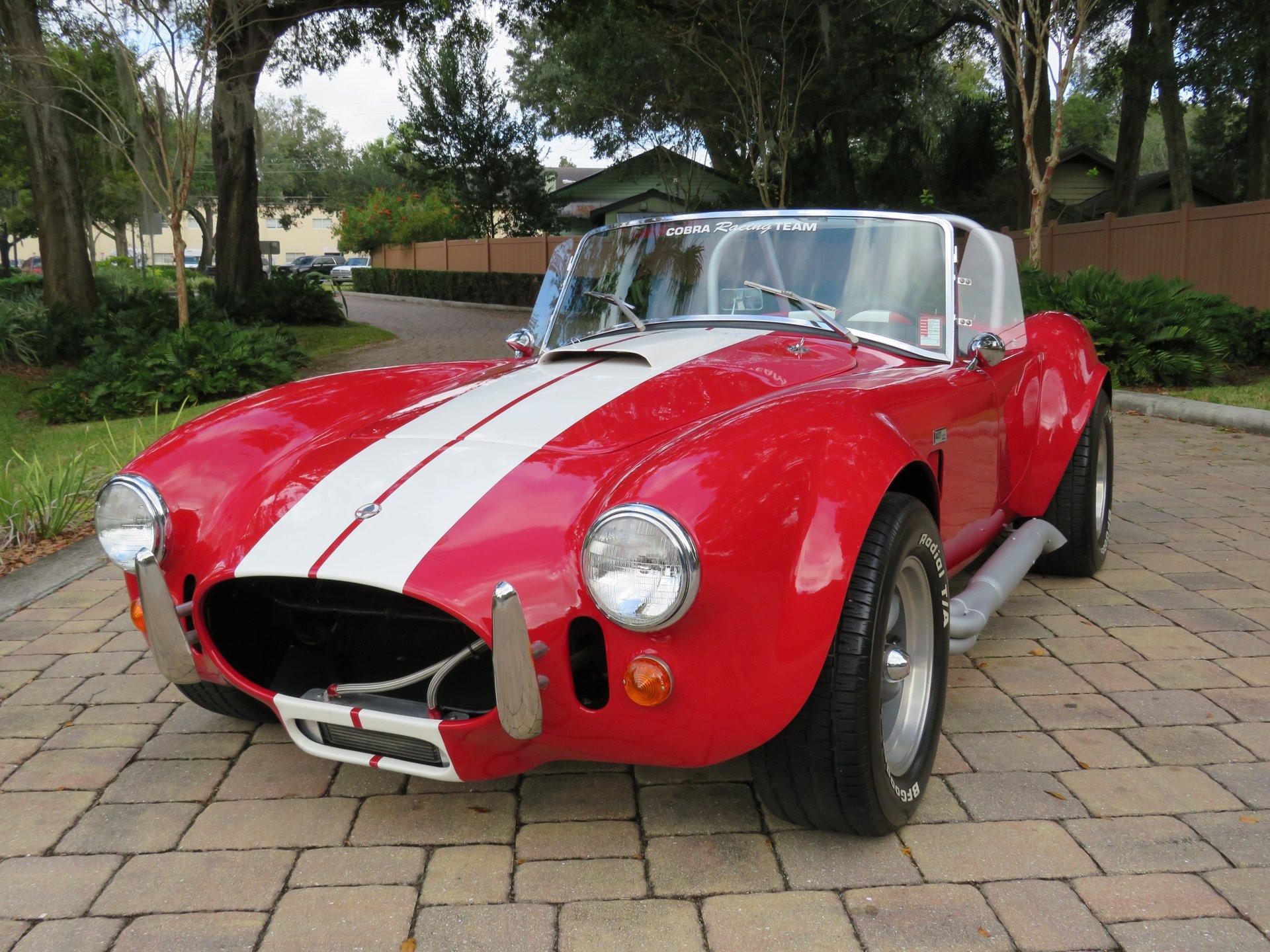 1965 ford shelby cobra replica