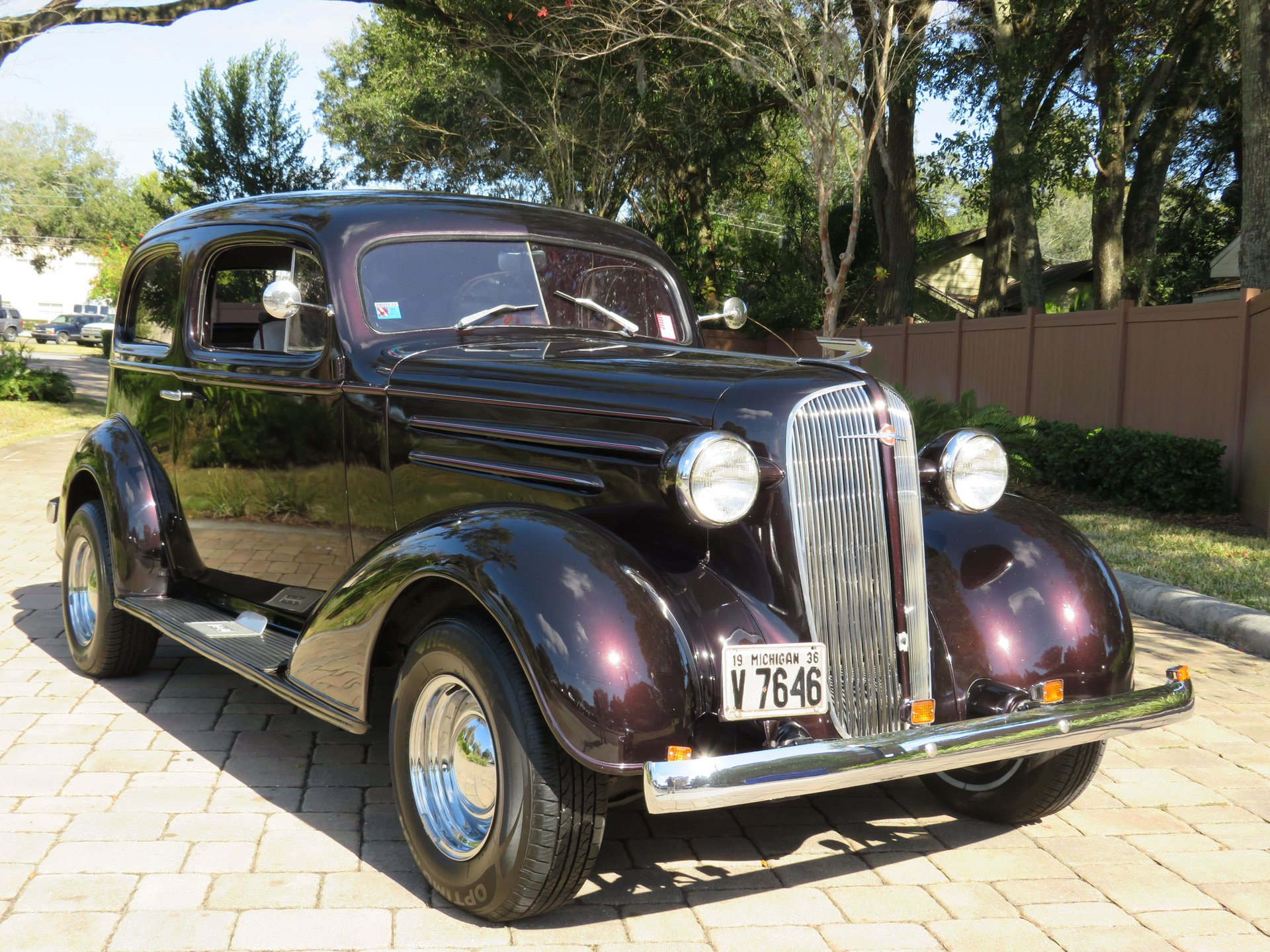 1936 chevrolet 2dr sedan streetrod