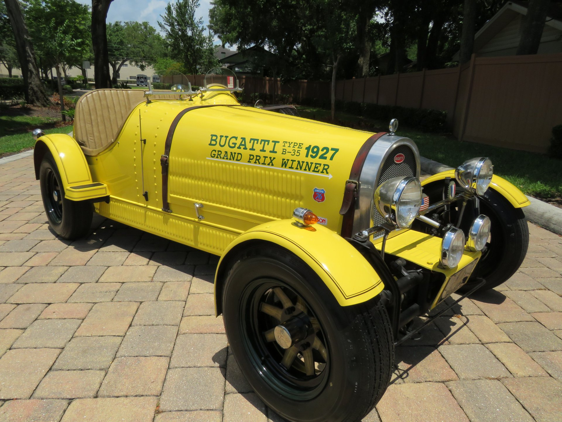 1927 bugatti replica