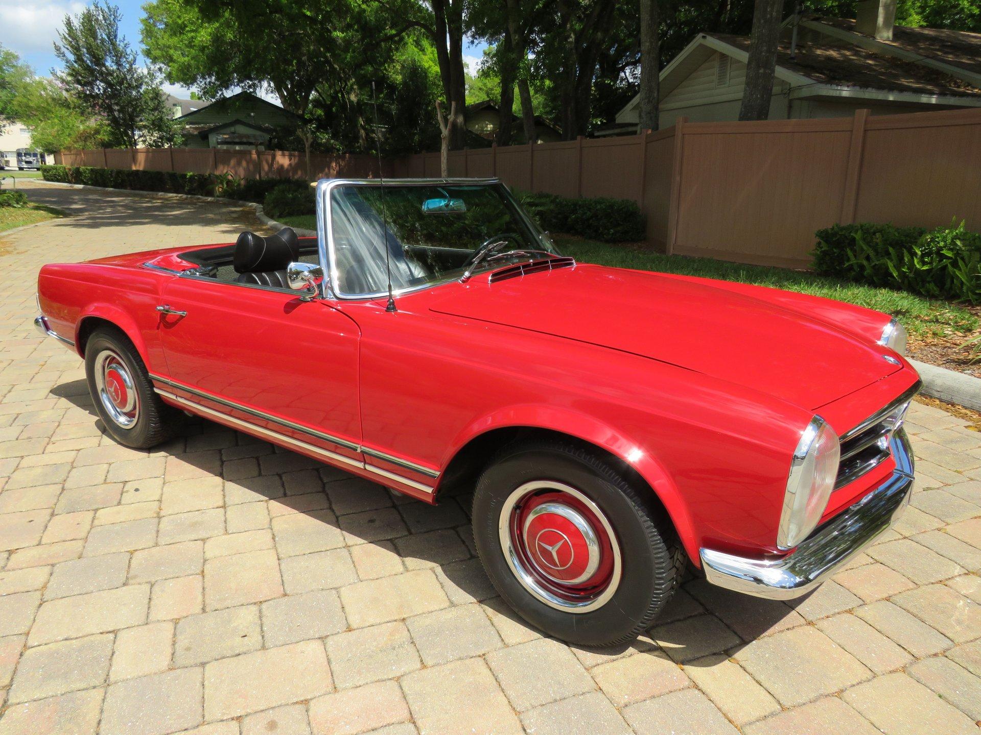 1965 mercedes benz 230sl