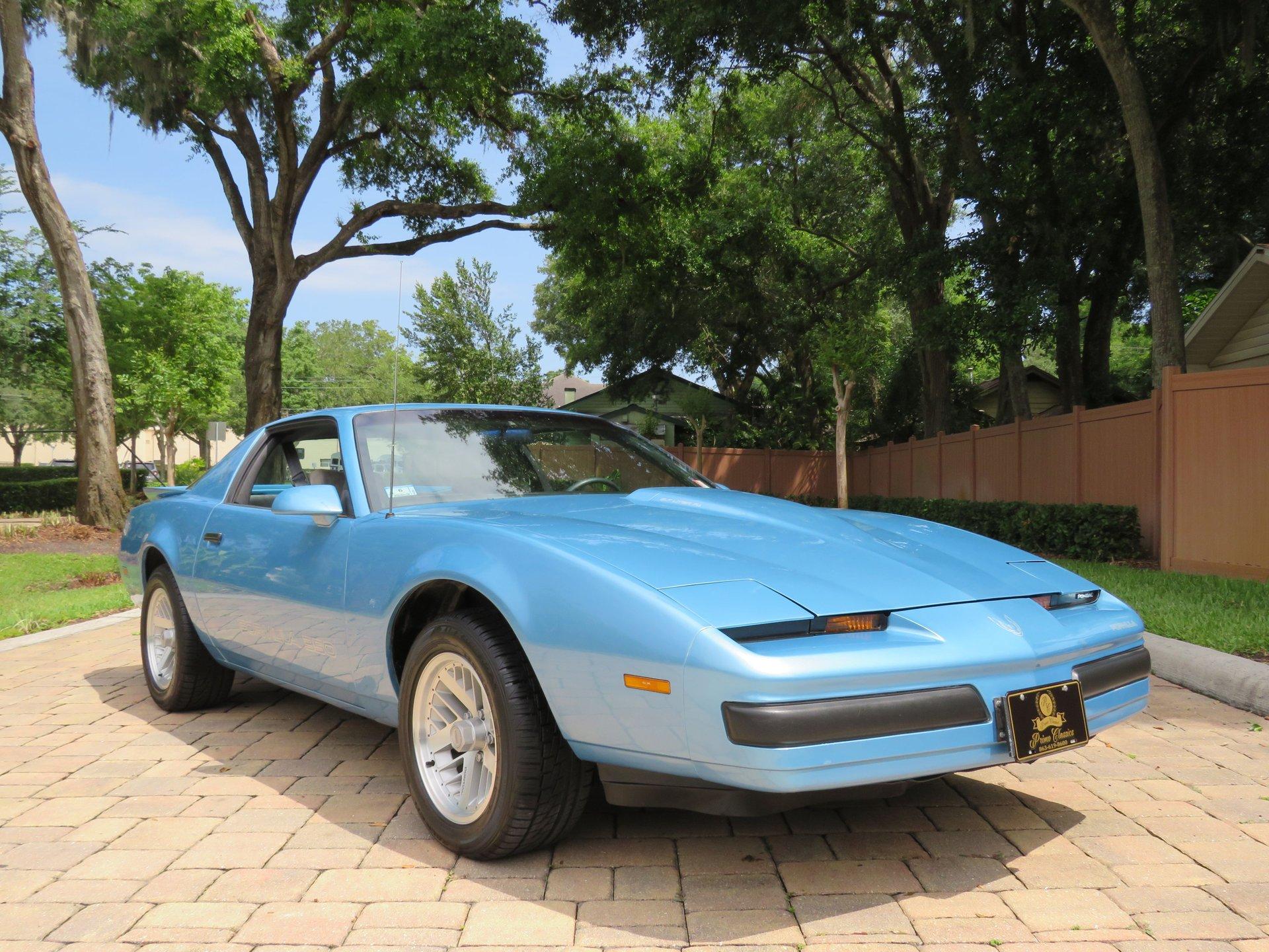 1988 pontiac firebird formula 350