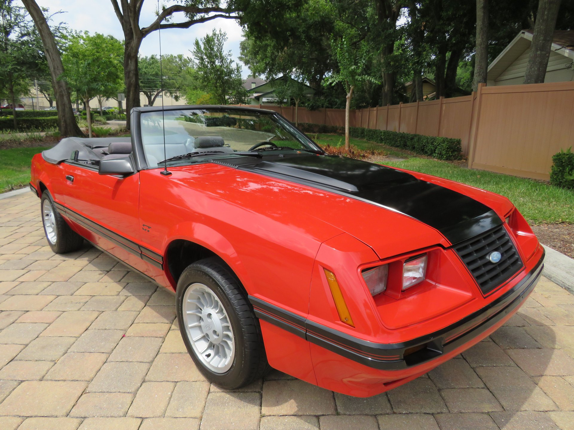 1984 ford mustang gt turbo
