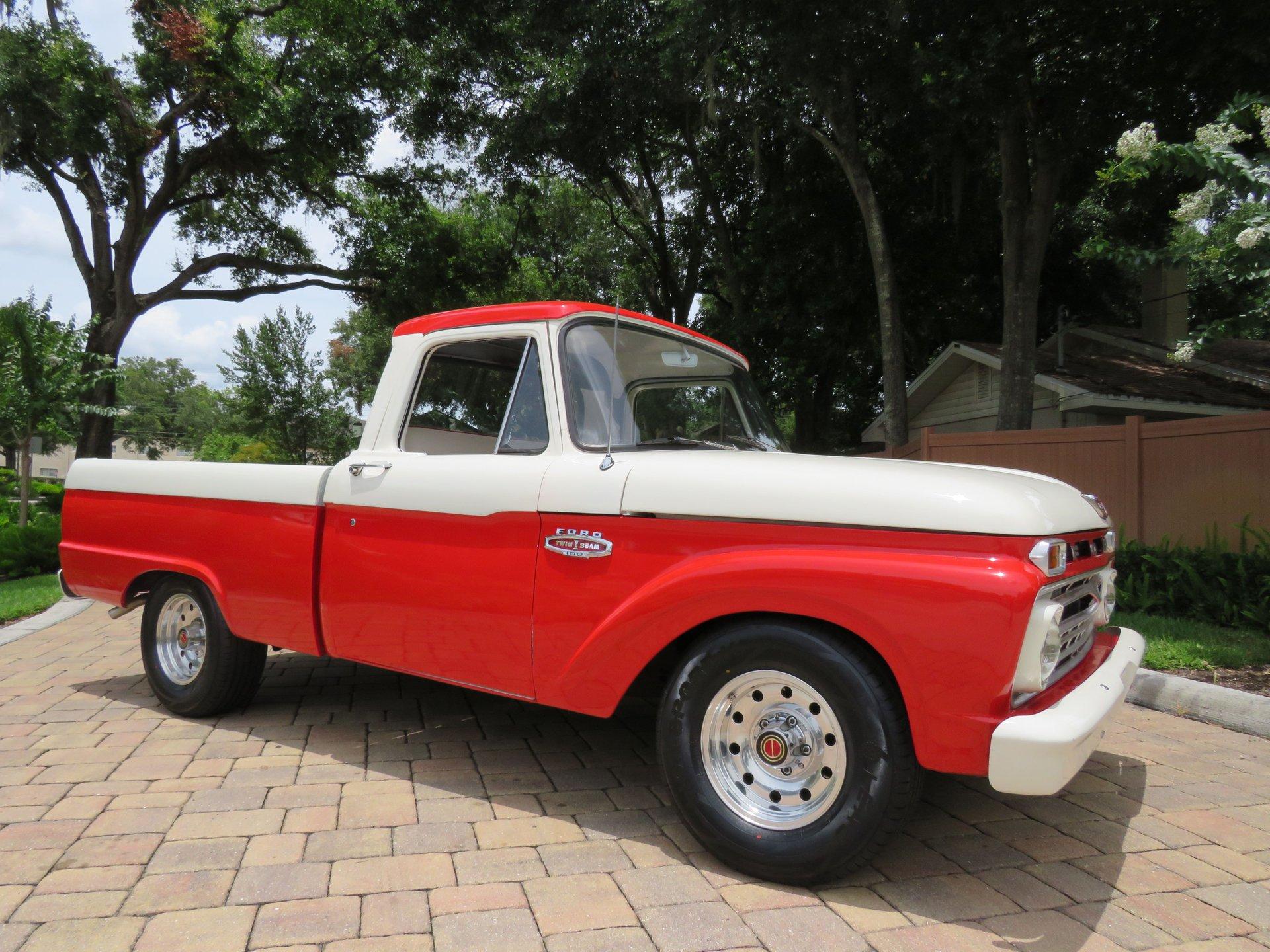 1966 ford f100 restomod
