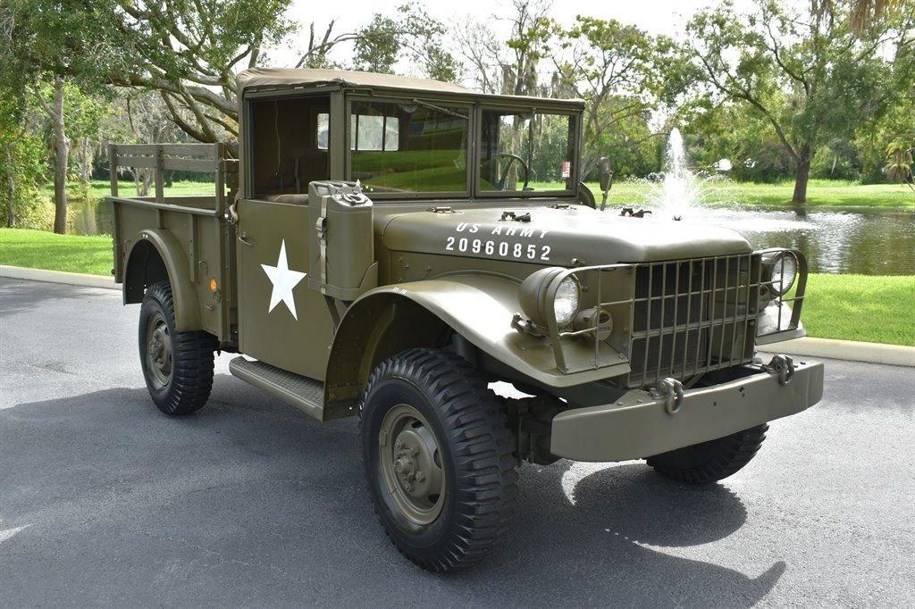 1953 dodge m37 3 4 ton military