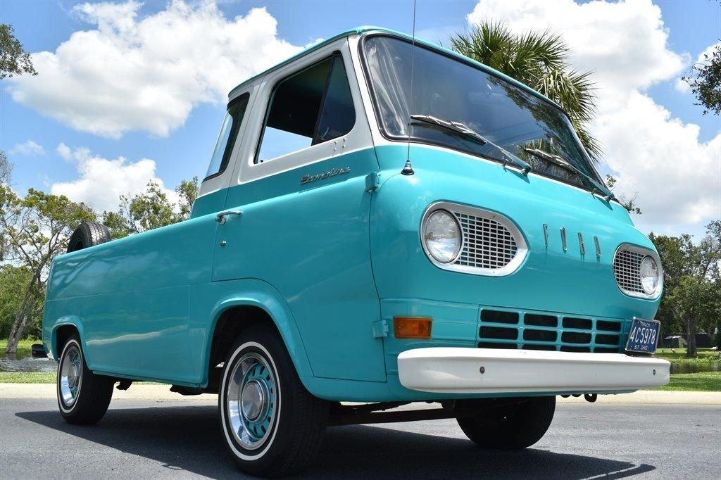 1967 ford econoline pickup 5 window