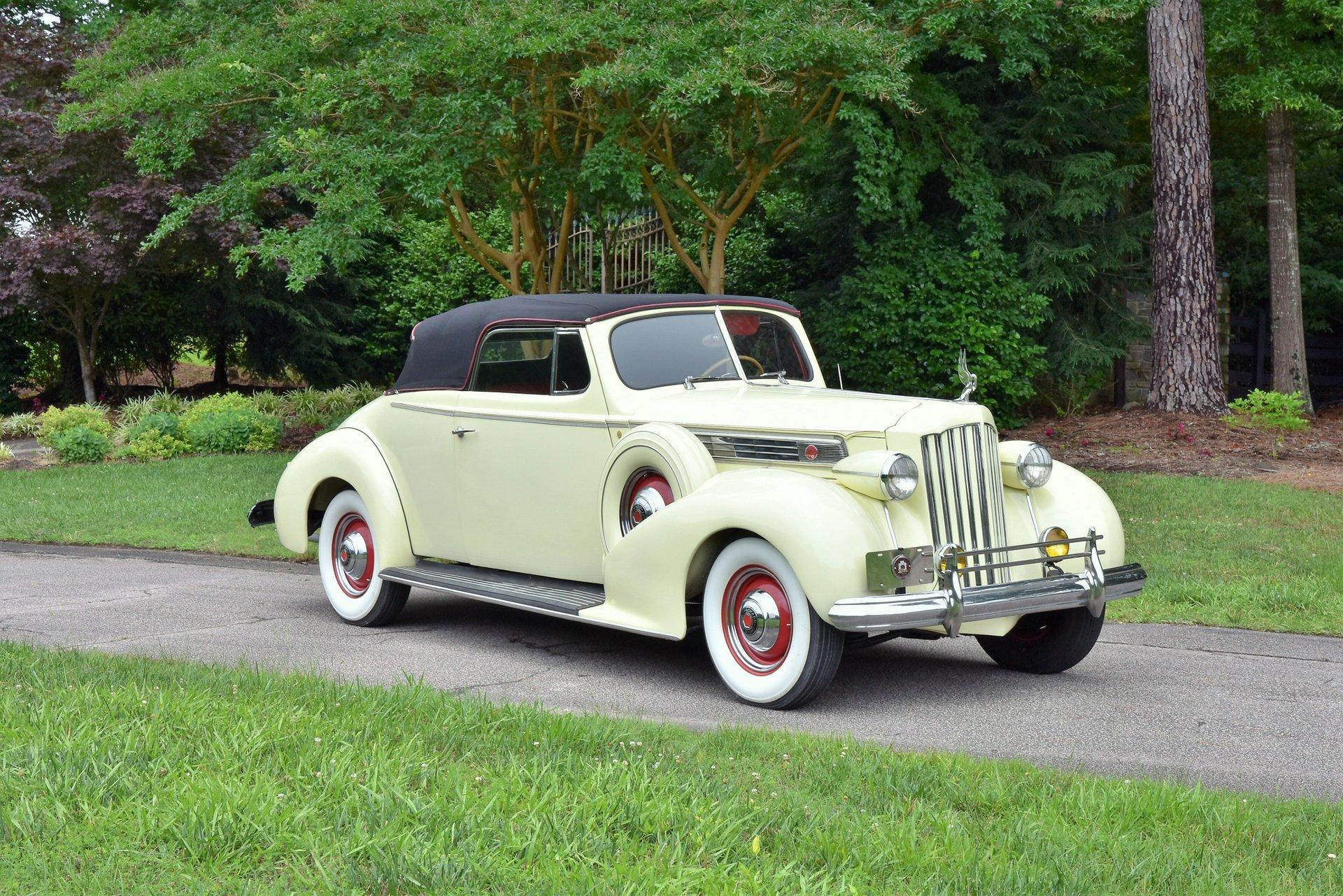 1939 packard 1279 convertible