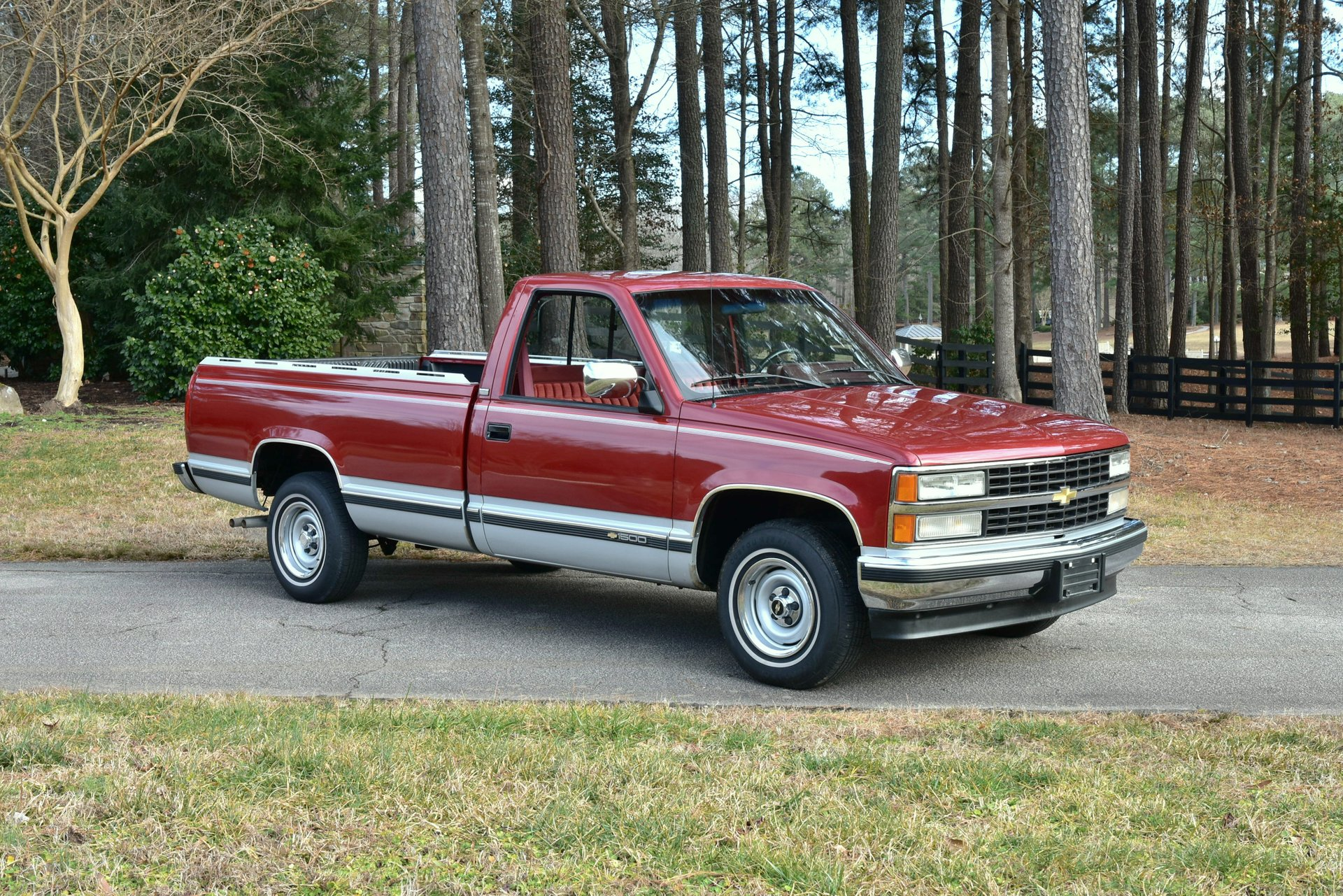 Auction 1991 Chevrolet Silverado
