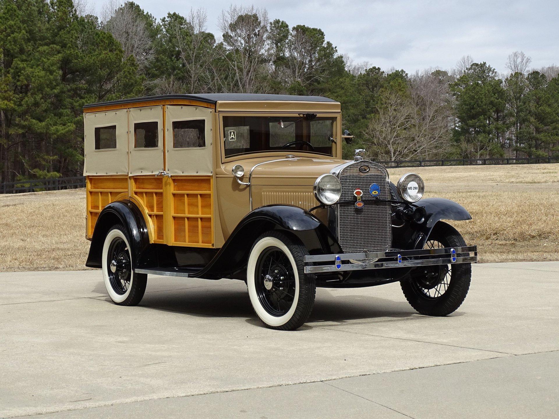 1931 ford model a station wagon