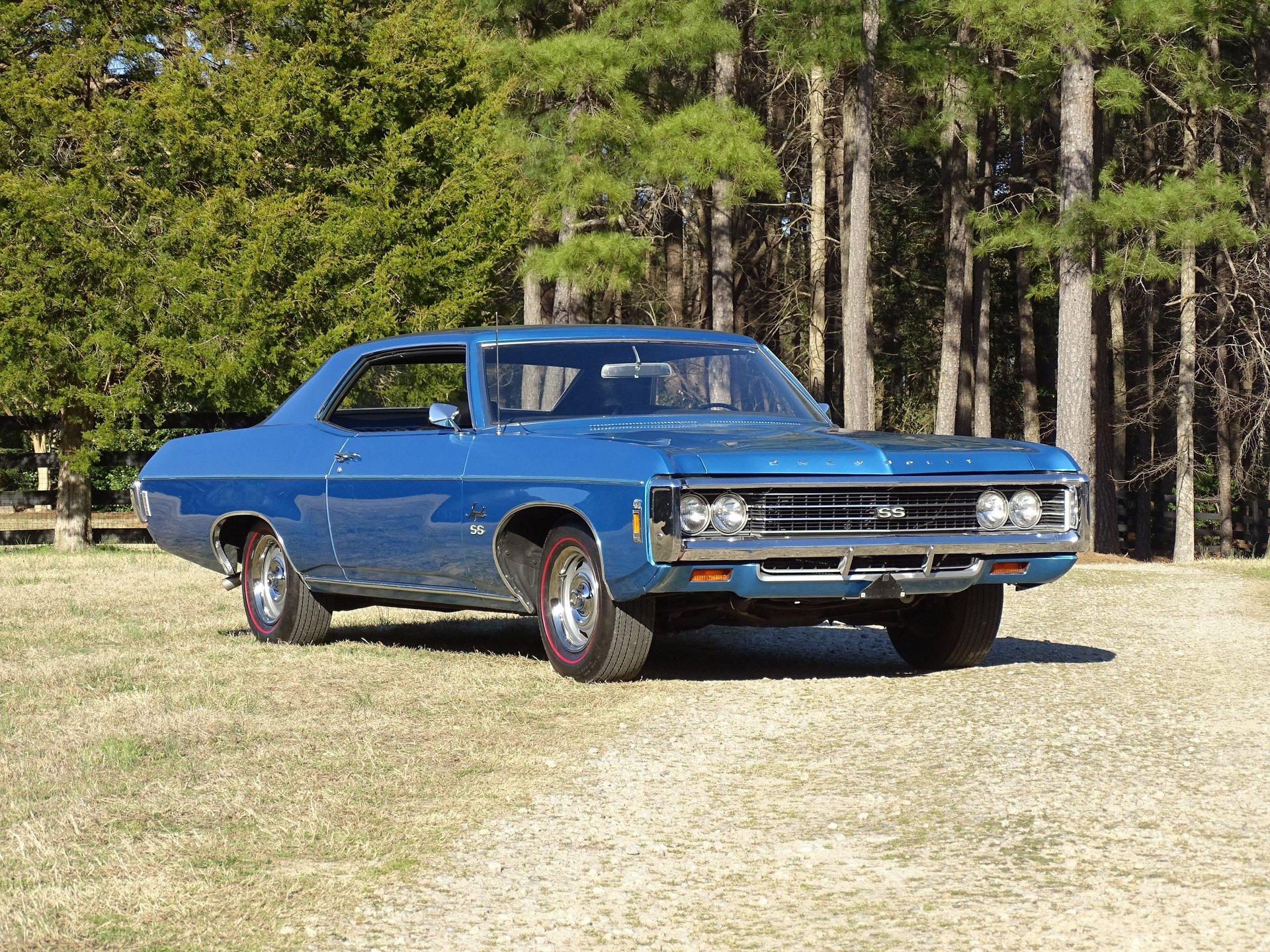 1969 chevrolet impala ss