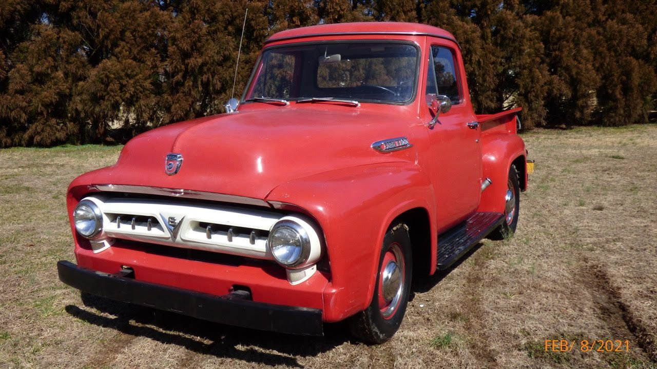 Auction 1953 Ford F100