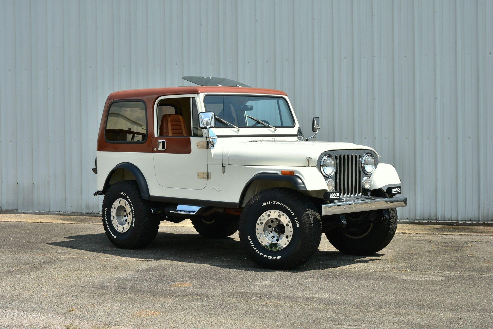 1981 amc jeep cj7 laredo